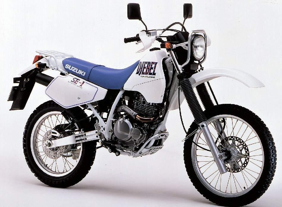 Suzuki DR 250 Djebel technical specifications